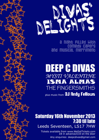 divas delights poster